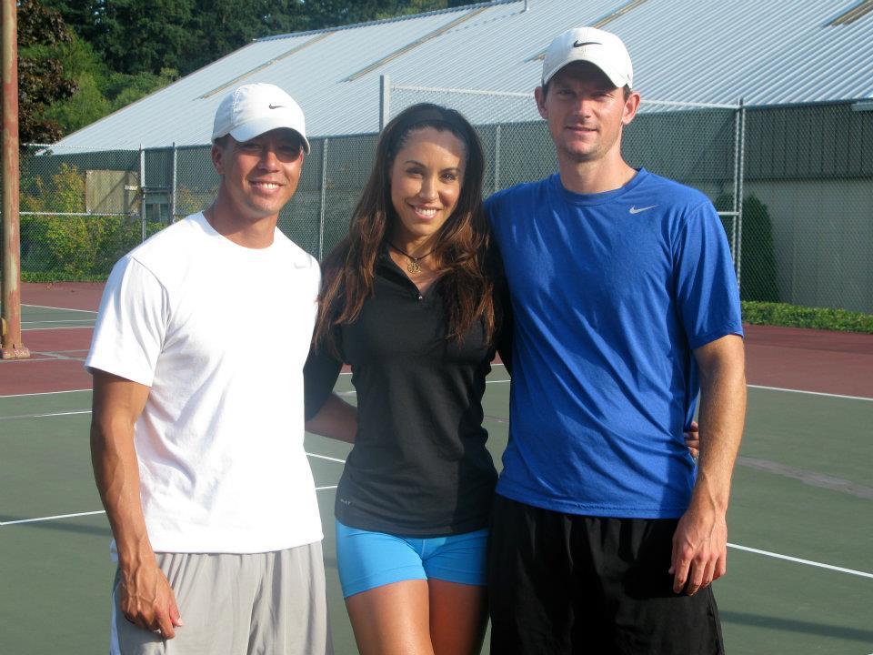 Chris,Angela,Kean - Leong Tennis Academy - Elite Tennis